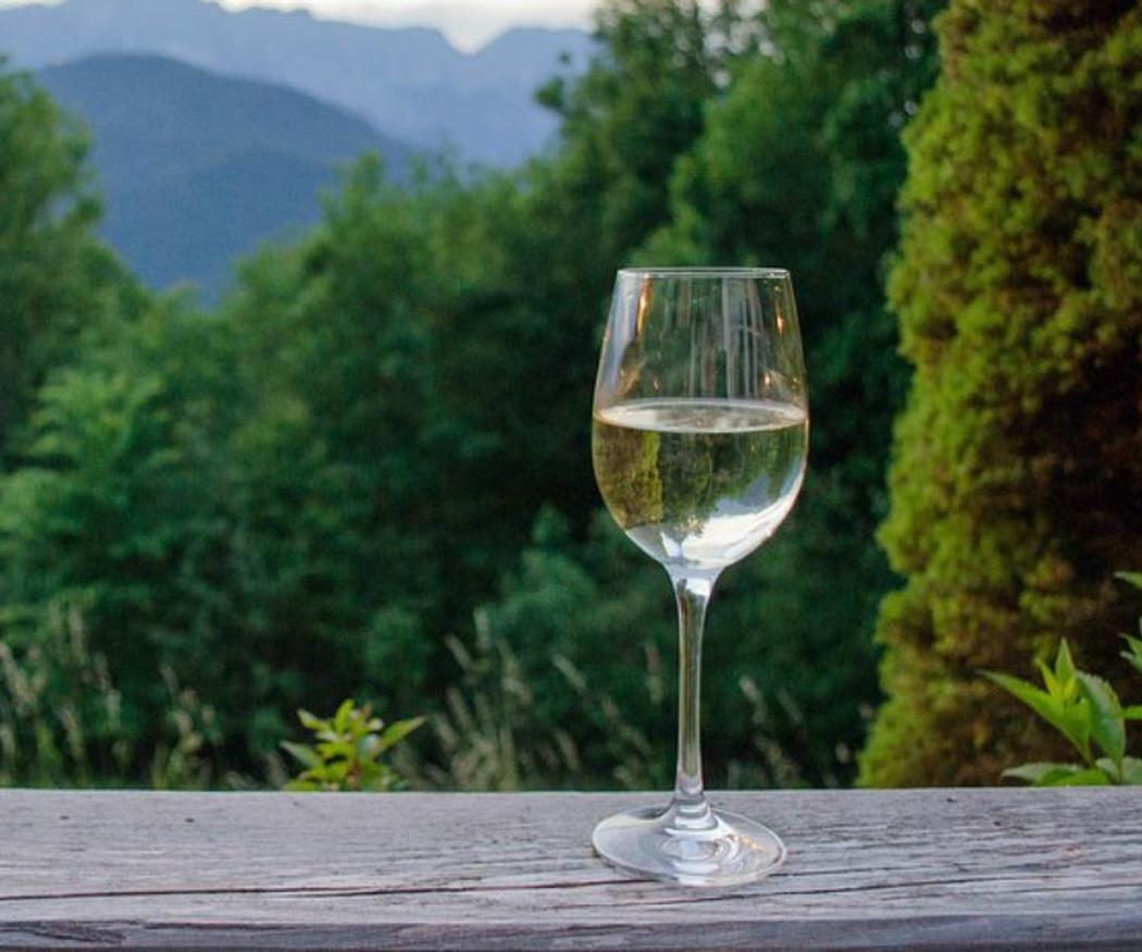 El vino en cristal