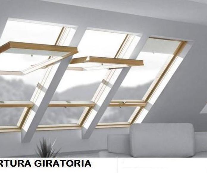 VENTANA DE TEJADO: Servicios de Exposición, Carpintería de aluminio- toldos-cerrajeria - reformas del hogar.