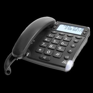 Teléfono fijo Super amplificado