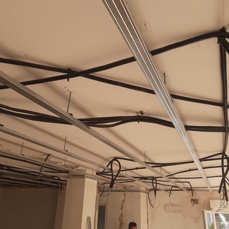 Trabajo realizado de estructuras: Servicios de Pladur en Granada