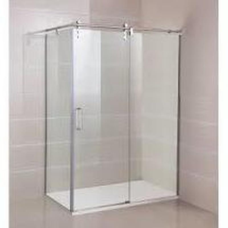 Mamparas de baño : Productos de Aluribes, S.L.U