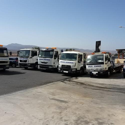 Servicio de grúa urgente Fuerteventura