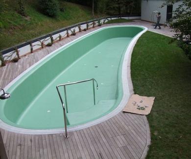 Revestimiento, Reparaciones de piscinas