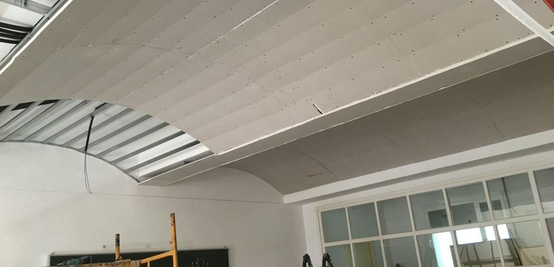 Pladur falsos techos en Madrid centro como aislante térmico y acústico