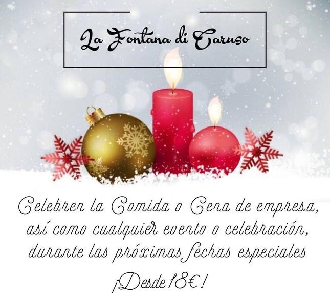 !!!!Precio especial para empresas, celebraciones en estas fechas desde 18€¡¡¡