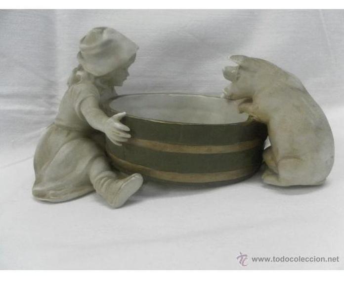 Figura de biscuit. Meissen. Alemania. Siglo XIX: Catálogo de Antiga Compra-Venta