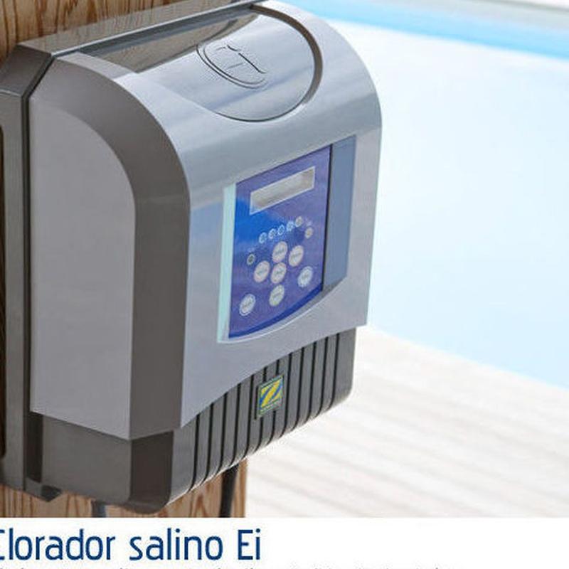Clorador Ei: Productos y servicios de Piscinas Castilla - Construcción y Rehabilitación