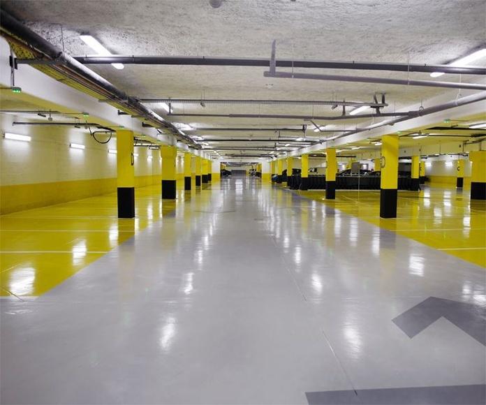 Tratamientos de suelos industriales: Servicios de Fachadas Estévez