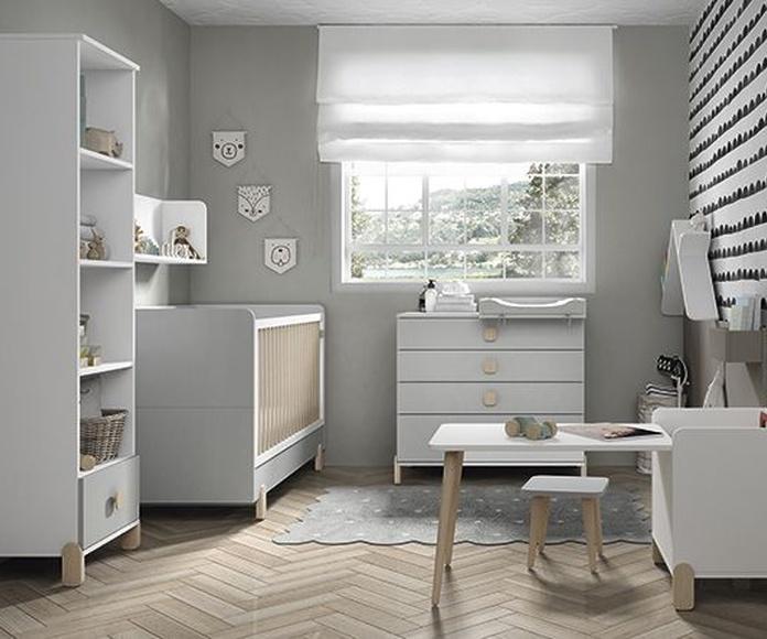 Dormitorios infantiles - Muebles Ros - Colección Elemental