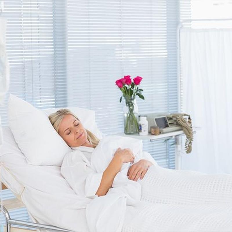 Asistencia hospitalaria: Servicios de Sacom Serveis Geriàtrics