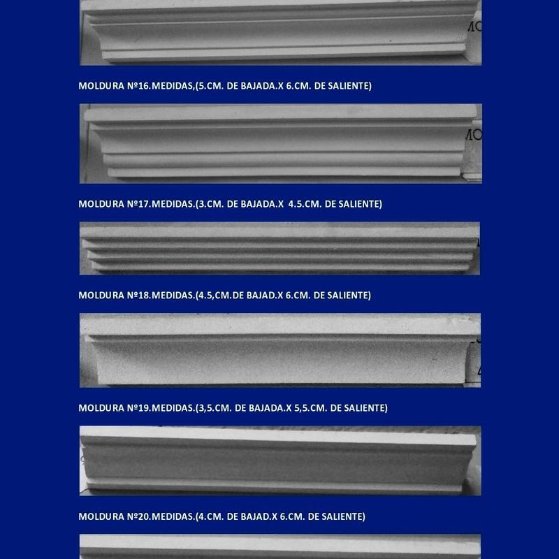 Molduras: Catálogo de I. De Escayolas Palomares