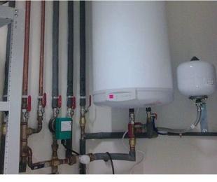Instalación de gas natural y de gas propano