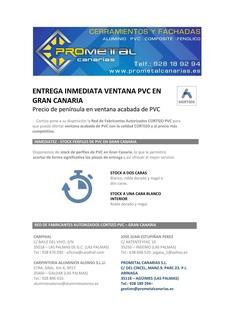 INSTALADOR OFICIAL DE SISTEMAS DE PVC CORTIZO