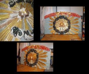 proceso de restauración de retablo s. XVII