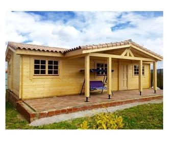 Amalia (128 m2): Casas de madera de 5SCC Casas de Madera