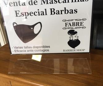 Servicios de barbería: Servicios y productos de Fabre Barber Shop
