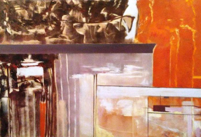 Abstracto de Sabino Serna: CATALOGO de Quadrocomio La Casa de los Cuadros desde 1968