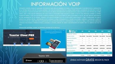 Instale Voz IP, centrales fisicas y virtuales Icloud