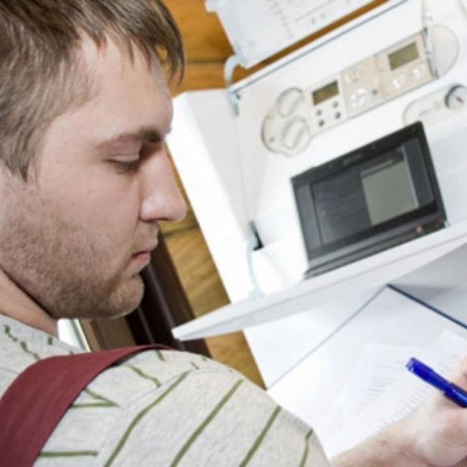 El mantenimiento de las calderas de gas