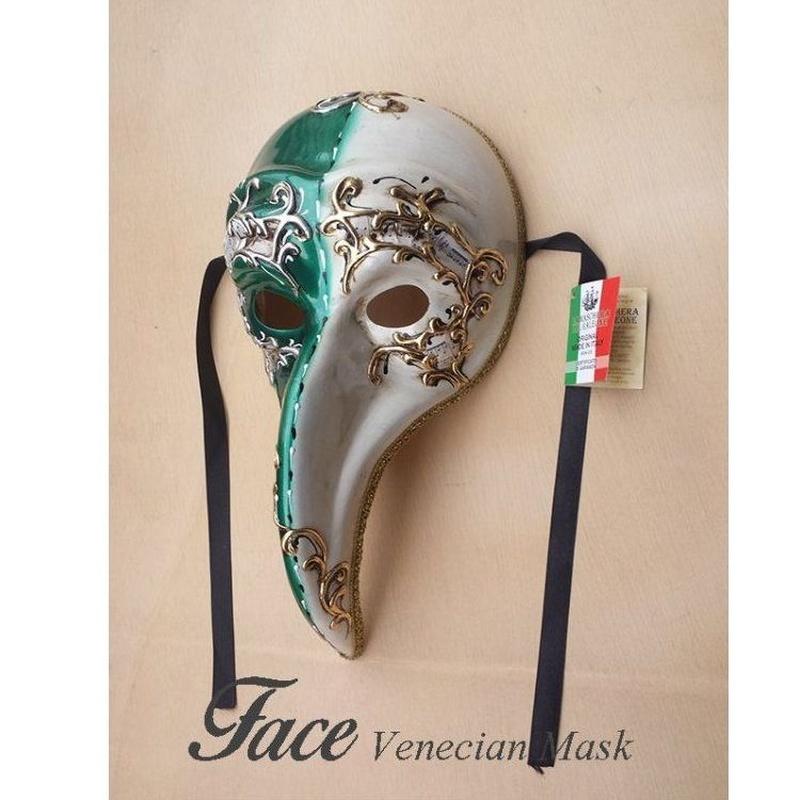 Máscaras pintadas a mano El Turco: Máscaras y antifaces de Face Venecian Mask