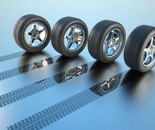 Cambio de neumáticos y contrapesado