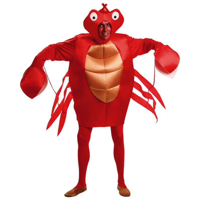 Disfraz cangrejo adulto