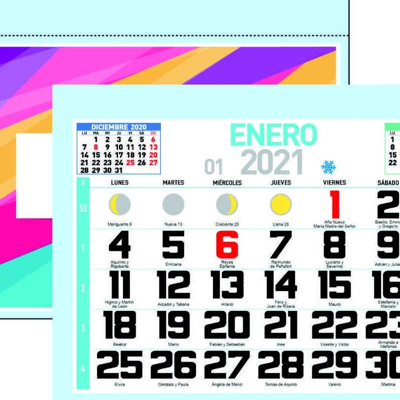 Mensual: Nuestros Productos de Gráficas Kalendex