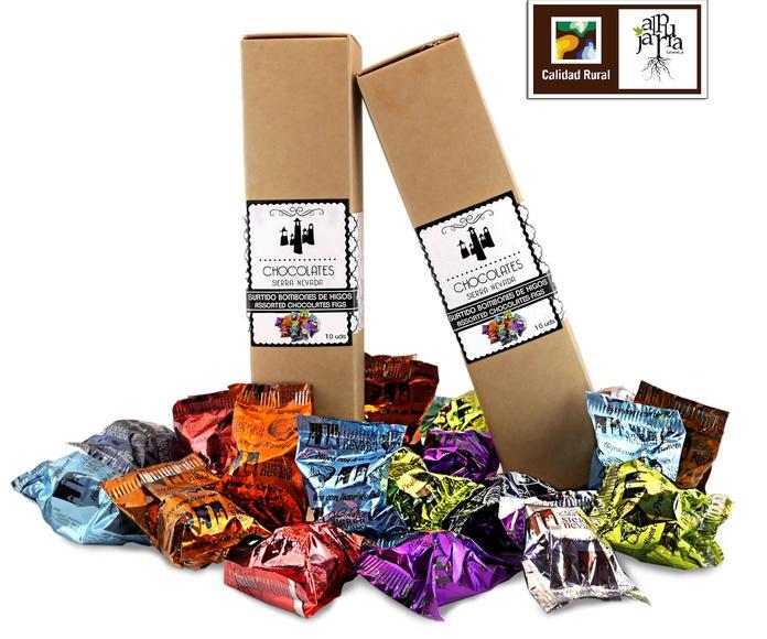 Surtido de bombones de higos: Nuestros productos de Chocolates Sierra Nevada
