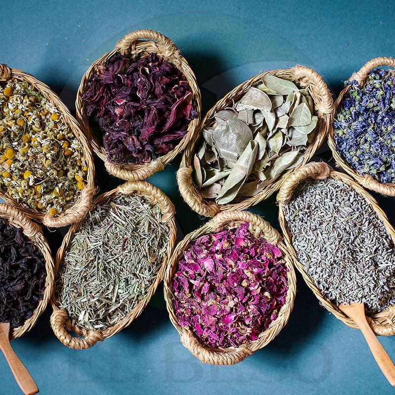 Plantas medicinales V: Productos de Especias y Plantas Medicinales El Beso