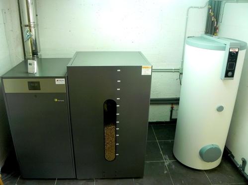 Instalación Biomasa (pellets)
