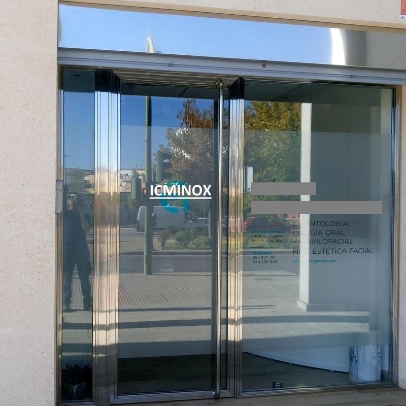 Puertas:  de Icminox