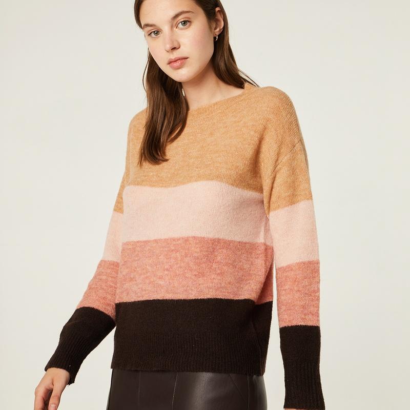 Jersey de lana en rayas de colores: Catálogo de Manuela Lencería