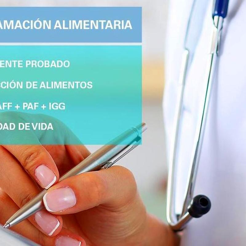 TEST DE INFLAMACIÓN ALIMENTARIA. BIOMARKERS TEST: Tratamientos de Sheanbell Natura