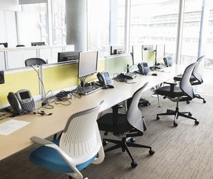 Limpieza de sillas de oficina