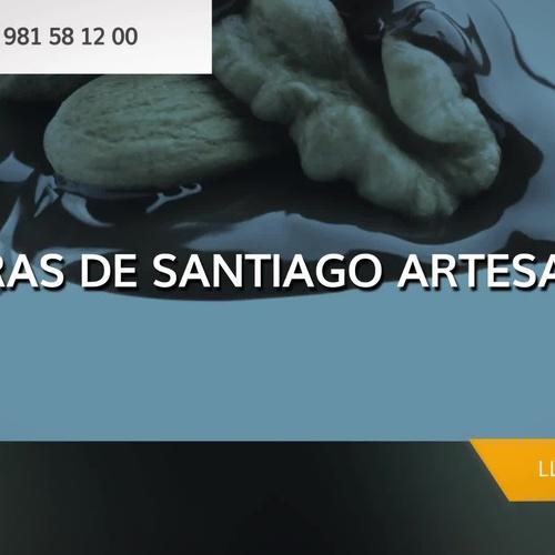Tartas de Santiago en Santiago de Compostela | Pedras de Santiago
