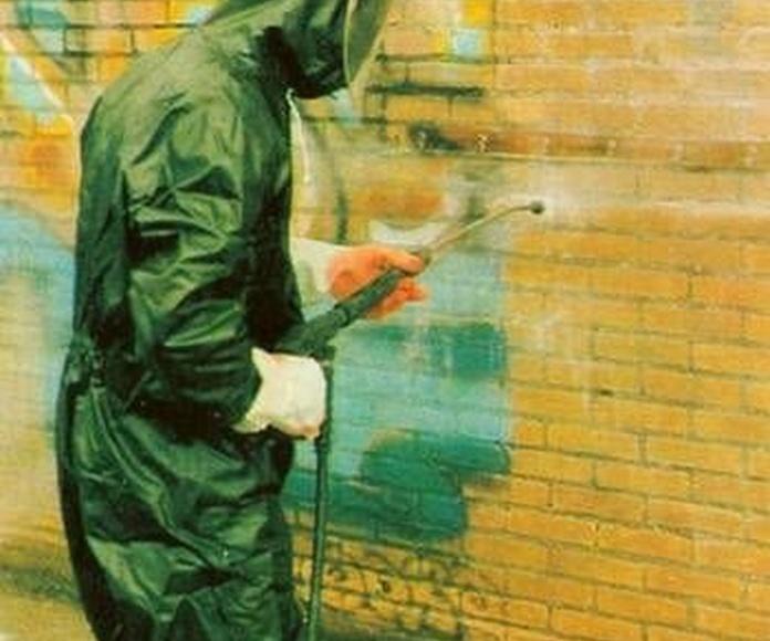 Limpieza de graffitis: Servicios de Toilim