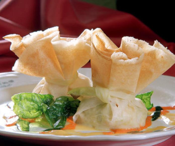 Entradas: Nuestra Carta y Servicios de Restaurante Mesón Del Cid