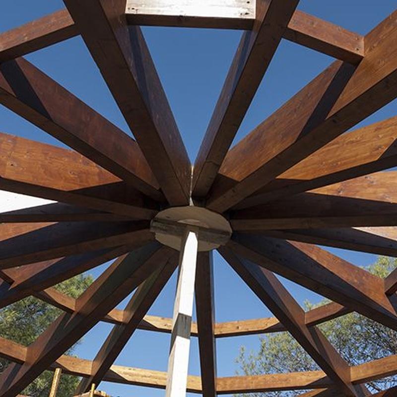 Estructuras de Madera Laminada: Productos de Madertac