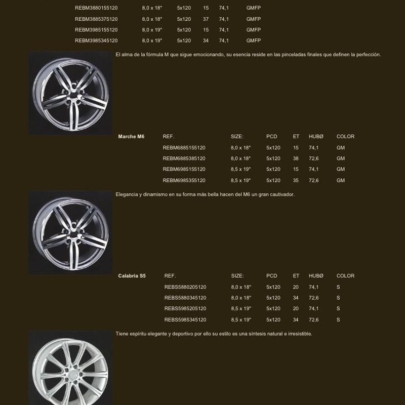 Llantas para BMW: Neumáticos Primeras Marcas  de Big Sur Neumáticos