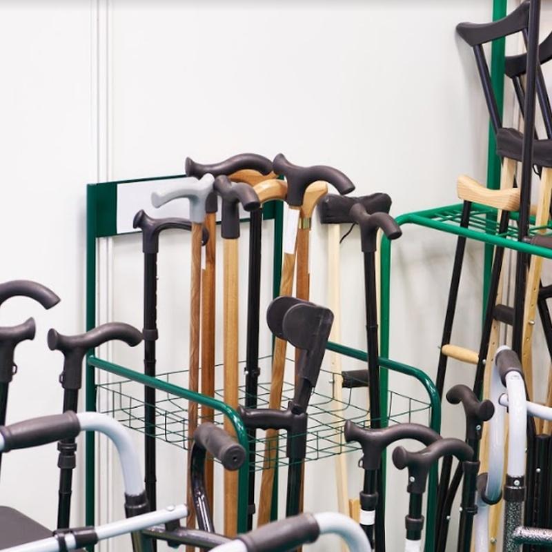 Muletas y bastones: Productos de Ortopedia Parla