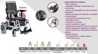 Silla de ruedas eléctrica barata SIM0029EL