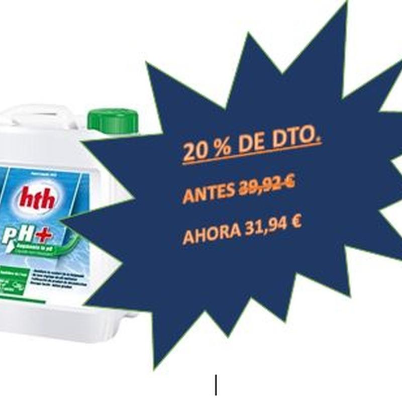 HTH PH+ 5 L.: Productos y servicios de Piscinas Castilla - Construcción y Rehabilitación