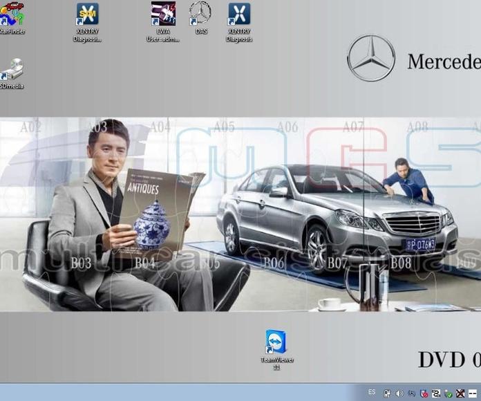 Star Diagnosis Xentry DAS Mercedes-Benz Smart DVD 2018