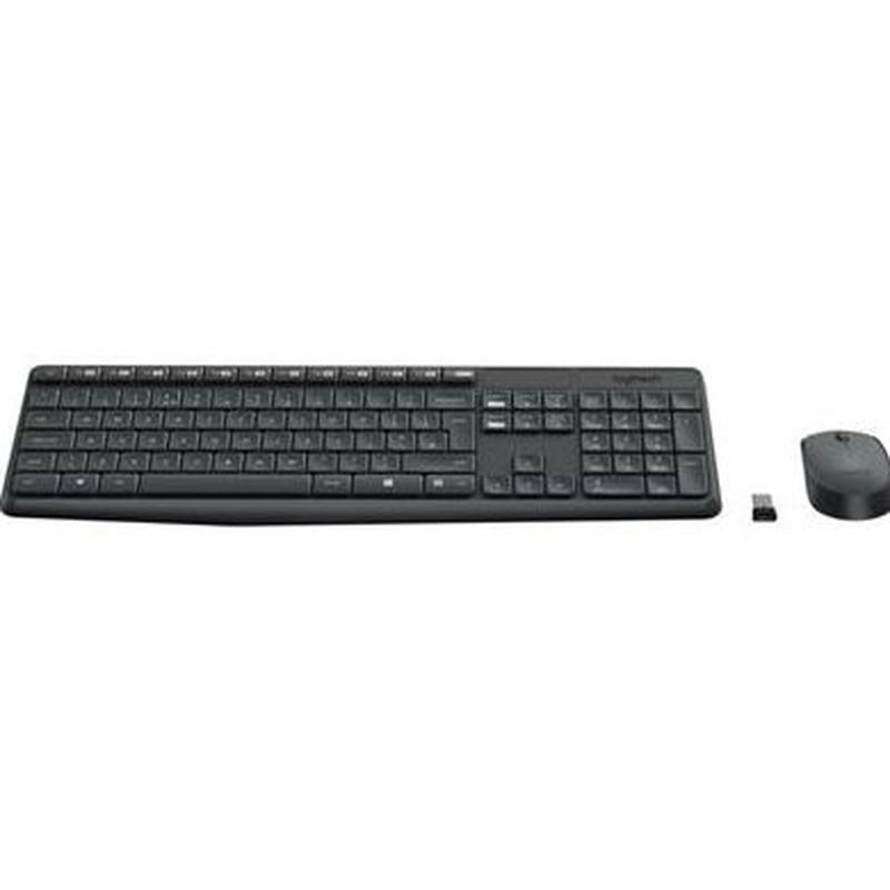 Logitech Teclado y ratón Inalámbrico MK235 Gris: Productos y Servicios de Stylepc