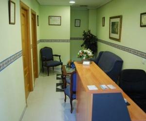 Recepción clínica podológica Esther Moreno