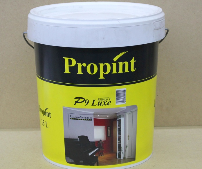 Pintura plástica P9 Luxe: Nuestros productos de Moquetes Terrassa