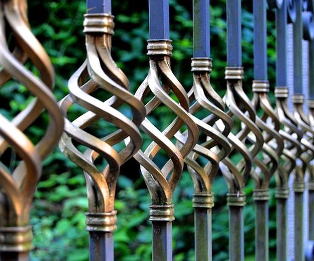 Ornamentaciones de hierro forjado