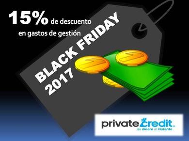 """""""Black Friday"""" en Private Credit: 15% de descuento en gastos de gestión"""