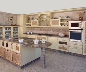 Exposición de muebles de cocina