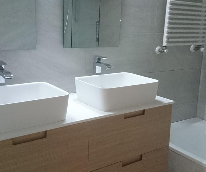 Mueble de baño 2 pozas